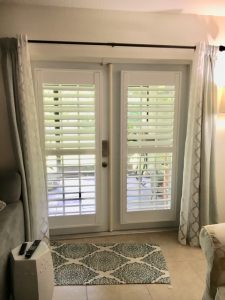 Plantation Shutters for Doors Installation in St. Petersburg FL by The Shutter Guy St. Pete